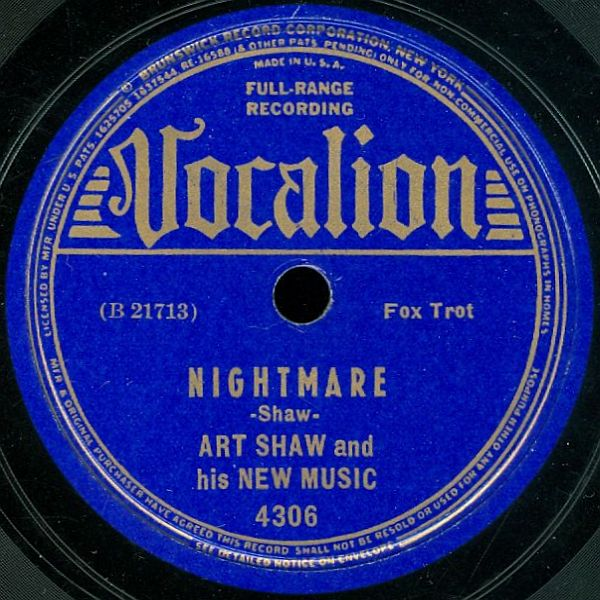 Vocalion 4306 B Label